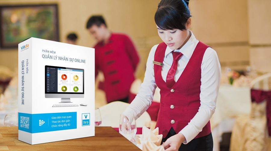 Ứng dụng phần mềm quản lý nhân sự VHRO trong việc kinh doanh nhà hàng khách sạn