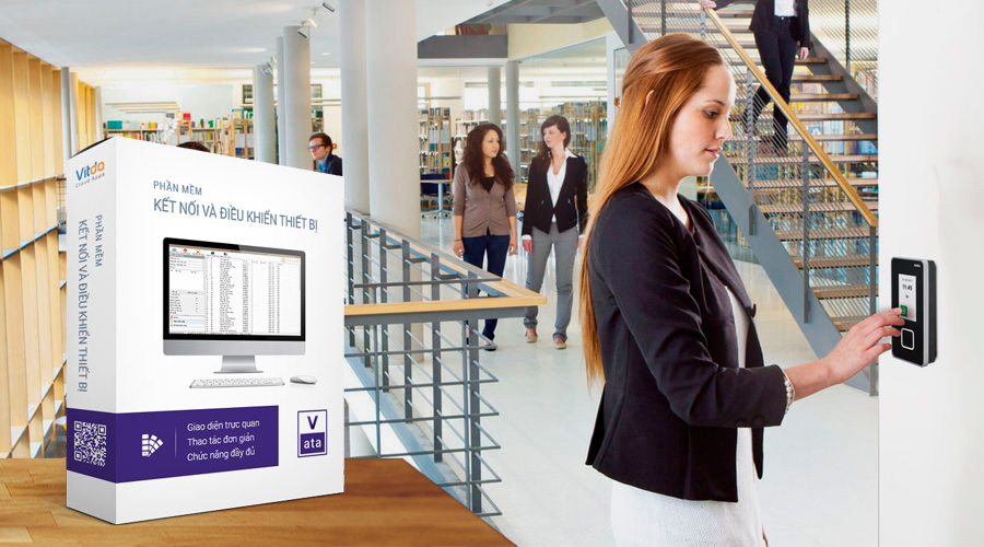 Máy chấm công dành cho khối văn phòng công sở