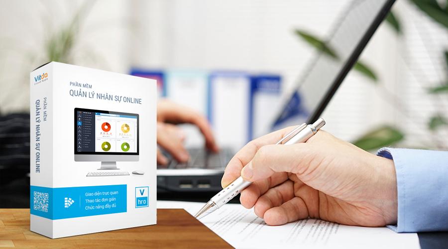 Giới thiều form Phụ Lục Hợp Đồng trong phần mềm quản lý nhân sự VHRO