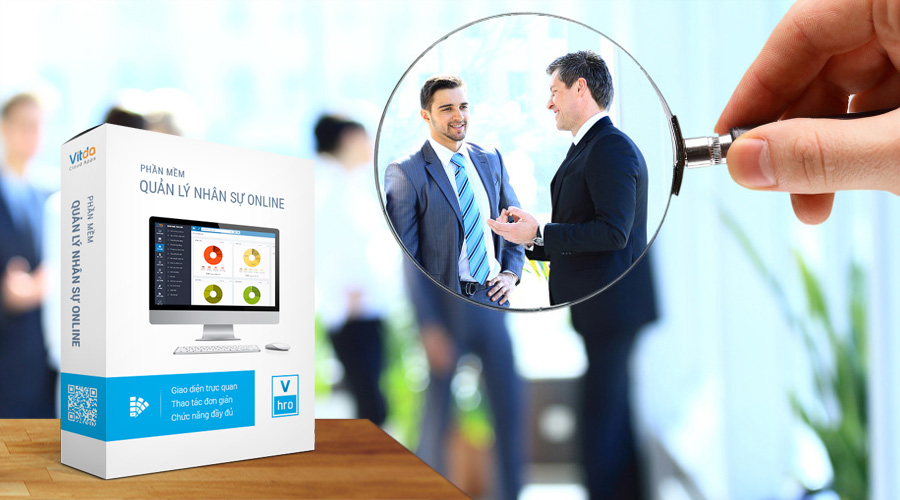 Giới thiệu form theo dõi nhân viên vào làm lại trong phần mềm quản lý nhân sự VHRO