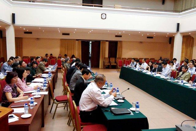 Bộ Xây dựng tổ chức Hội nghị góp ý Dự thảo sửa đổi Hiến pháp năm 1992