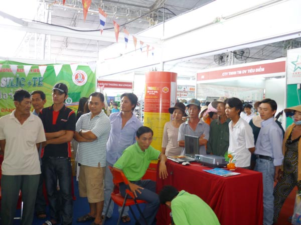 Sitto Việt Nam tham gia Festival lúa gạo lần I tại Hậu Giang