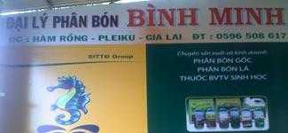Đại lý BÌNH MINH - Pleiku, Gia Lai