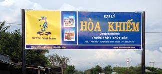Nhà phân phối thuốc thú y thủy sản HÒA KHIẾM - Tuy Phong, Bình Thuận