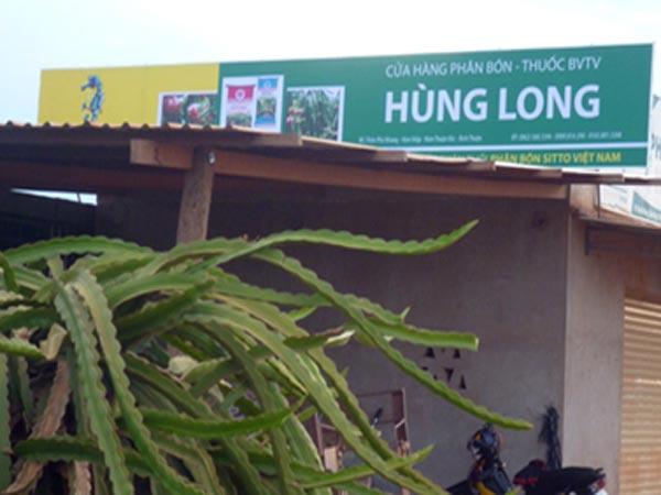 Đại lý HÙNG LONG - Hàm Thuận Bắc, Bình Thuận