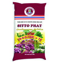 Phân bón Sitto Phat 20-5-5-7SiO2+TE