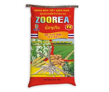 Phân bón tiết kiệm đạm Sitto Zoorea F2
